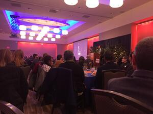 Vice-Chancellor Garrick delivers keynote at Diversity Breakfast