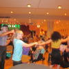 Dancing during the Klezmer performance at Krannert Center